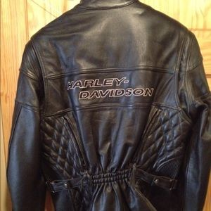 Woman's Leather authentic Harley Davidson jacket